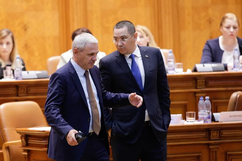 Ponta: Liviu Dragnea controlează Parlamentul, Guvernul, partidul, Curtea de Conturi