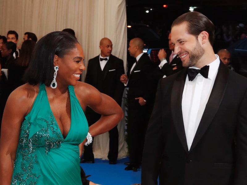 """Serena Williams s-a căsătorit cu Alexis Ohanian. """"Beauty and the Beast"""", tema nunții de 1 milion de dolari"""