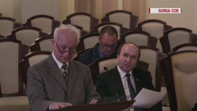 """CCR a amânat pentru 23 noiembrie dezbaterea sesizării lui Tăriceanu în cazul """"Belina"""""""
