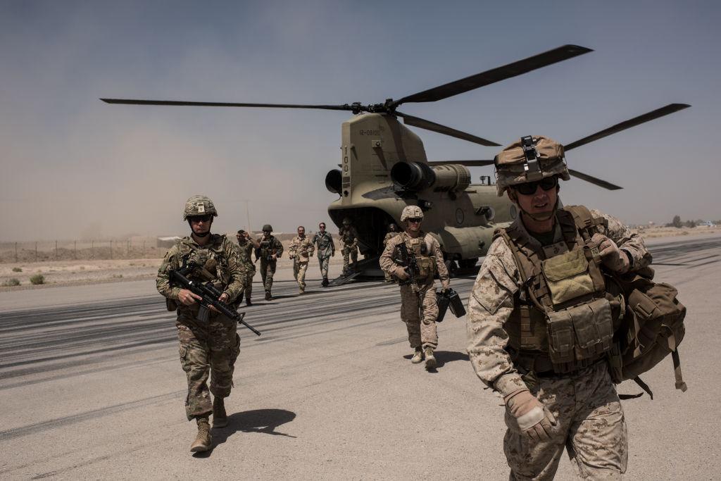 Militarii americanii au doborât o dronă care viza ambasada SUA din Bagdad