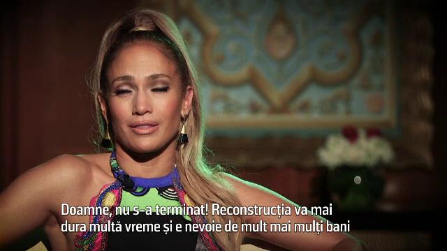 Jennifer Lopez, implicată în reconstrucția insulei Puerto Rico, devastată de uragane