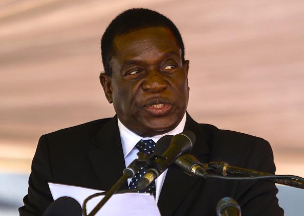 Emmerson Mnangagwa, fostul vicepreședinte al Zimbabwe, propus pentru funcția de președinte
