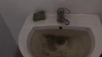 Înregistrare cu toaleta spitalului din Calafat, trimisă de un utilizator. VIDEO