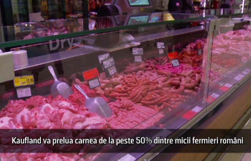 (P) Kaufland România inaugurează primul program național pentru carne de porc românească