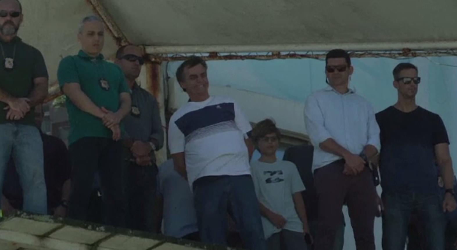 Spectacol aerian organizat pentru noul președinte brazilian, Jair Bolsonaro
