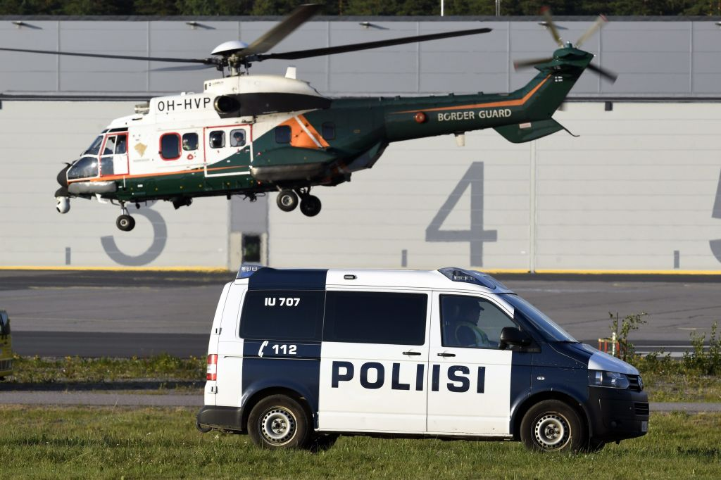 Descoperirea finlandezilor după un raid al poliţiei pe o insulă deţinută de un milionar rus