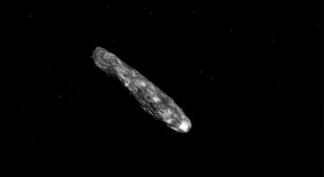 Ce ar fi de fapt Oumuamua, corpul ceresc despre care s-a spus că e o