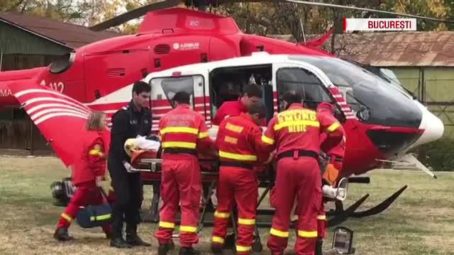 Florin Busuioc a fost transferat la București cu un elicopter. Actorul este în stare stabilă