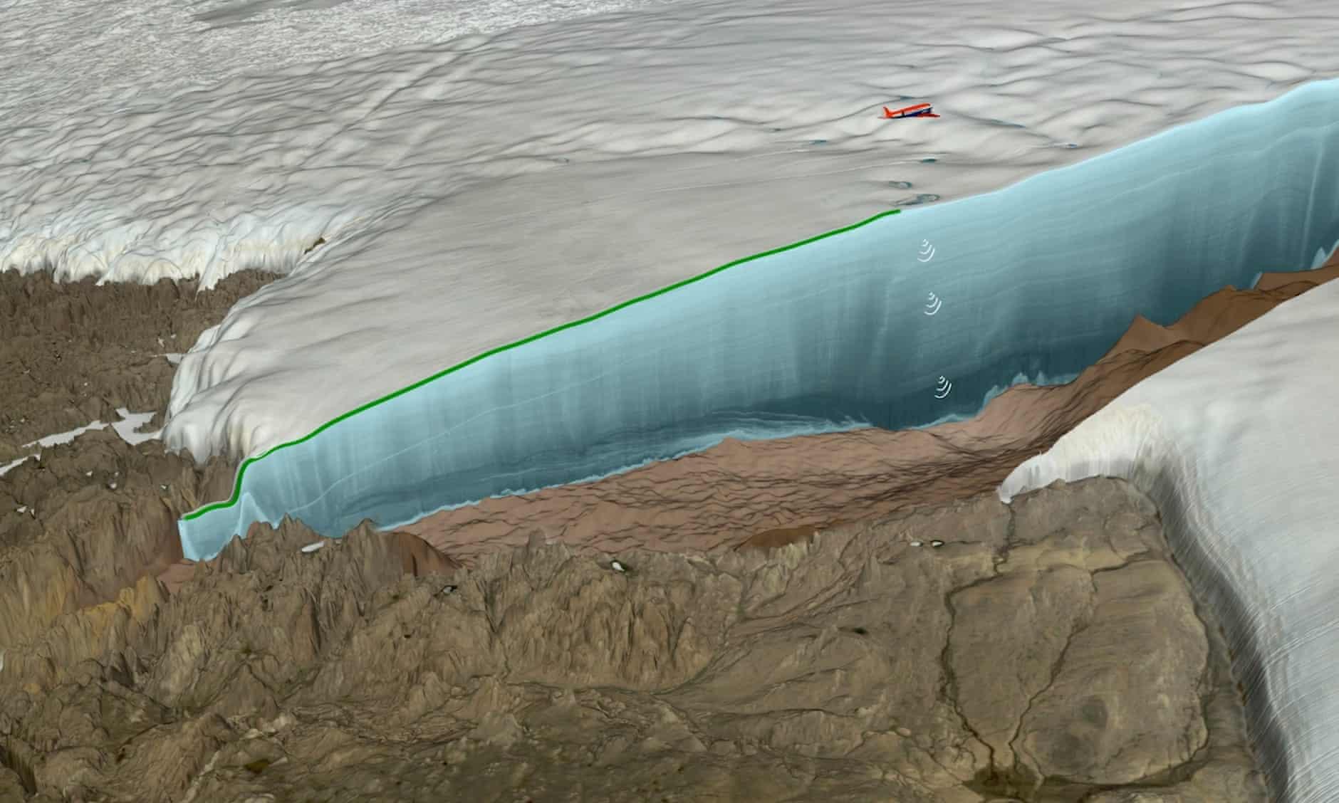 """Descoperire istorică sub stratul de gheață din Groenlanda. """"Fenomen rar în istoria Pământului"""""""