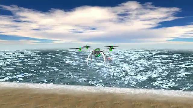 Cum vor supraveghea dronele litoralul românesc în caz de atac terorist şi cine a inventat sistemul
