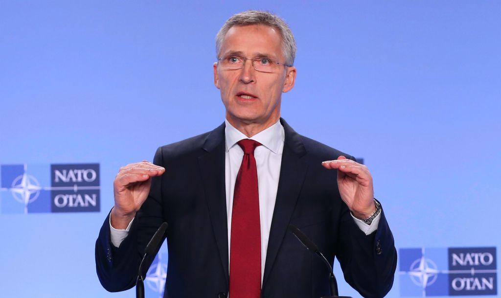 Jens Stoltenberg a vorbit despre scutul de la Deveselu, după întâlnirea cu Dăncilă