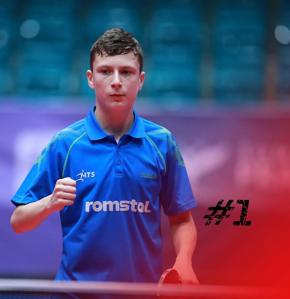 Darius Movileanu, primul european care câștigă titlul mondial la cadeți, la tenis de masa