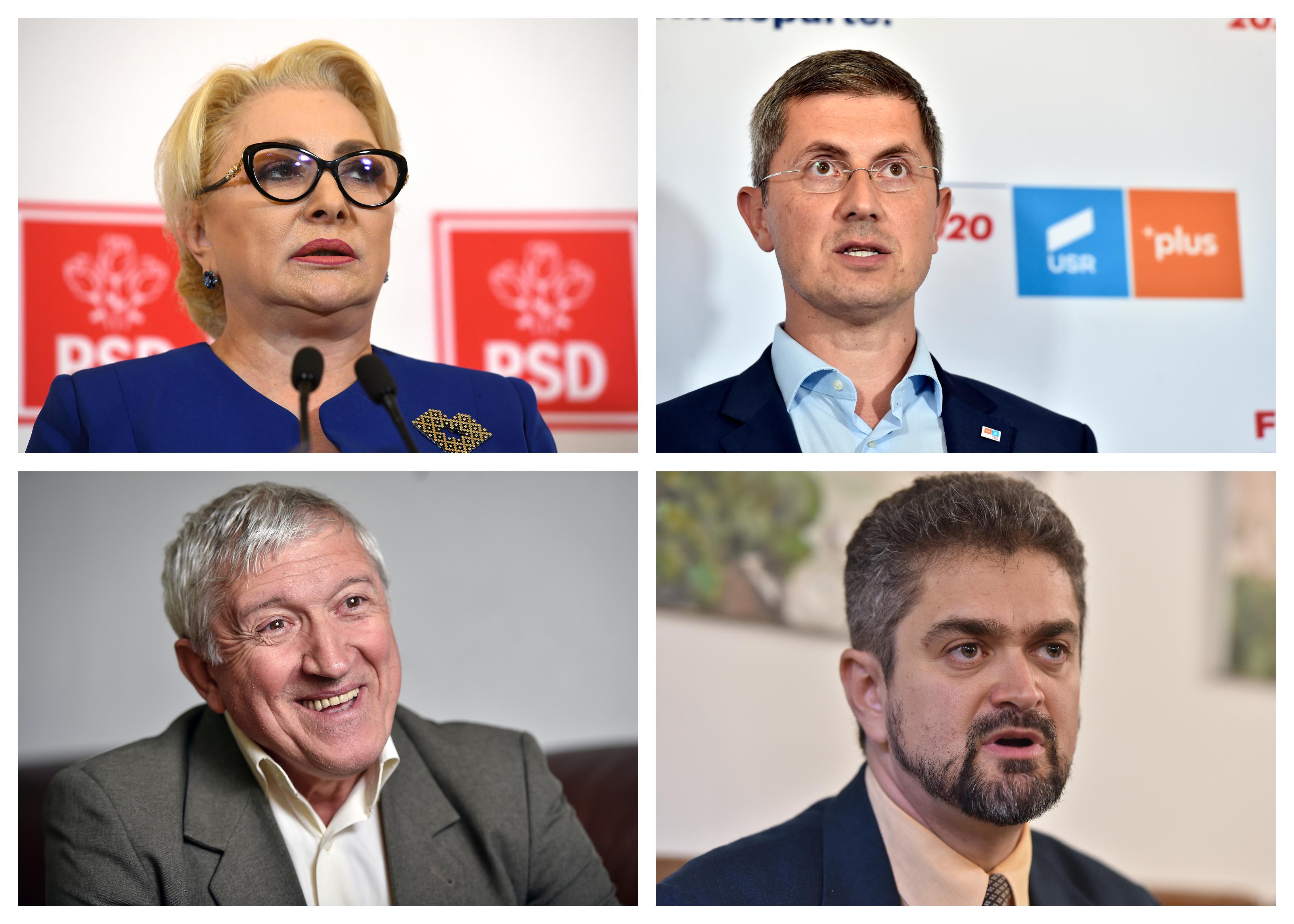 Lupta pentru turul 2 al alegerilor prezidențiale. Cine se va confrunta cu Iohannis