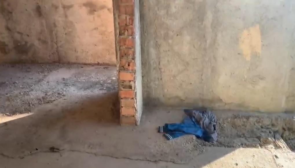 Imagini de la locul în care o tânără a fost violată într-un