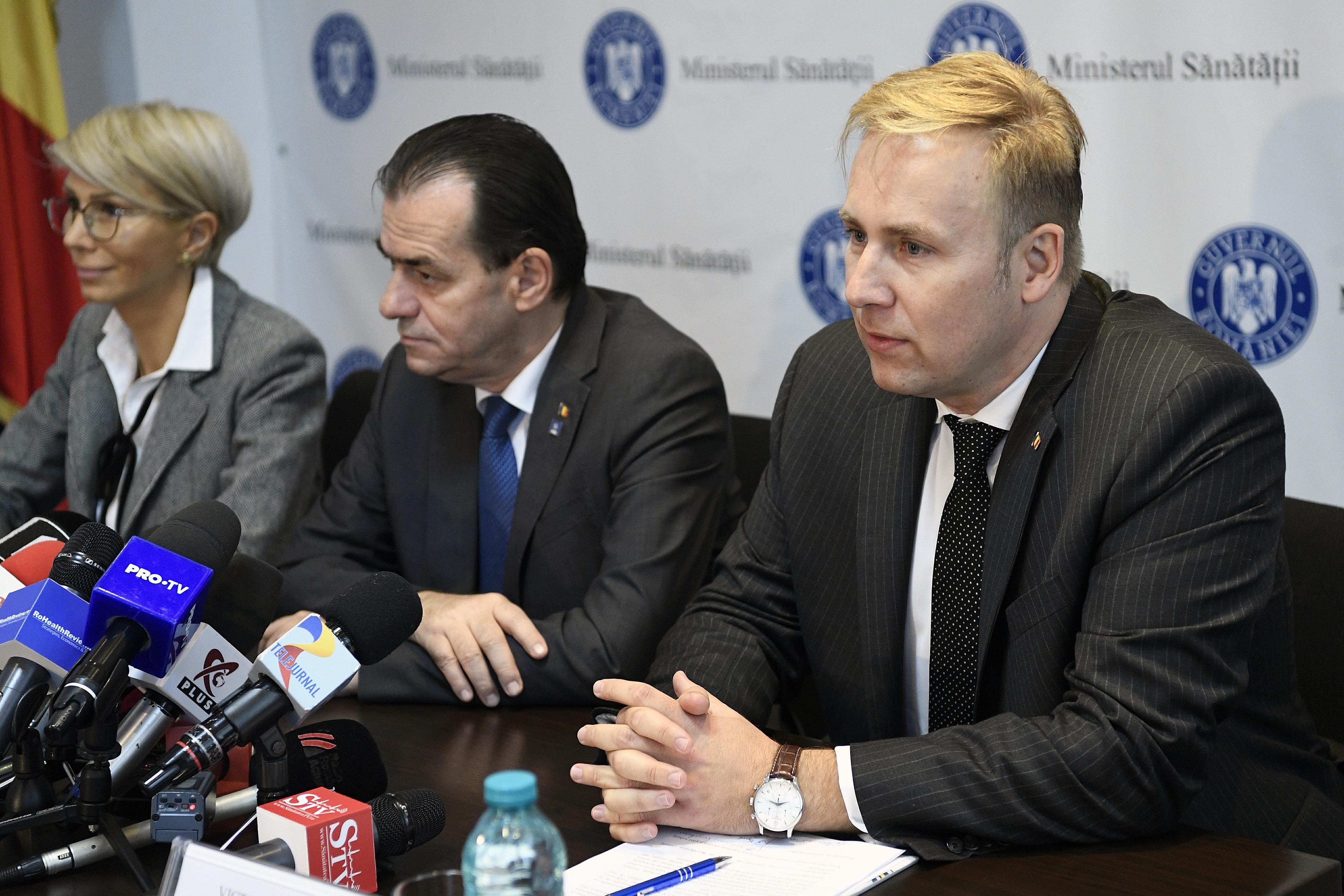 """Premierul îi ia apărarea ministrului Sănătății: """"Nu e în conflict de interese"""""""