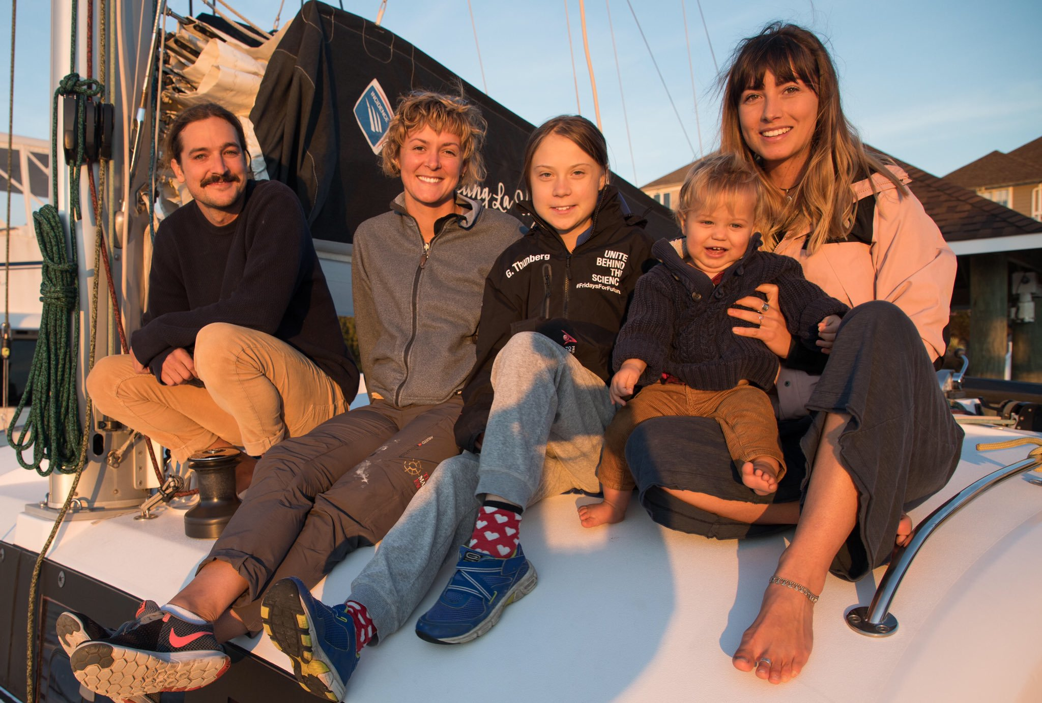 Greta Thunberg se întoarce în Europa cu un catamaran. La bord se va afla și fiica unui român