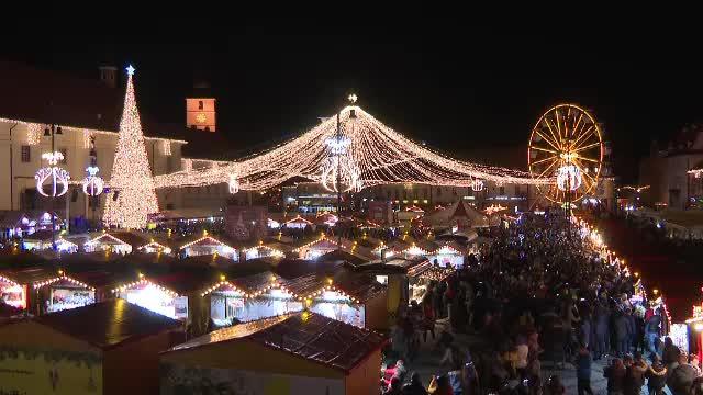 Târgul de Crăciun de la Sibiu, suspendat din cauza pandemiei de COVID-19