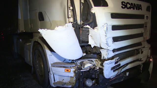 Impact violent pe DN 71. Greșeala care i-a fost aproape fatală unui șofer
