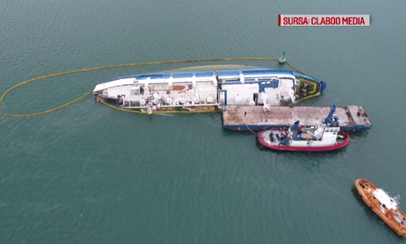 Ce s-a întâmplat cu oile moarte pe nava scufundată în Portul Midia. S-a deschis o anchetă