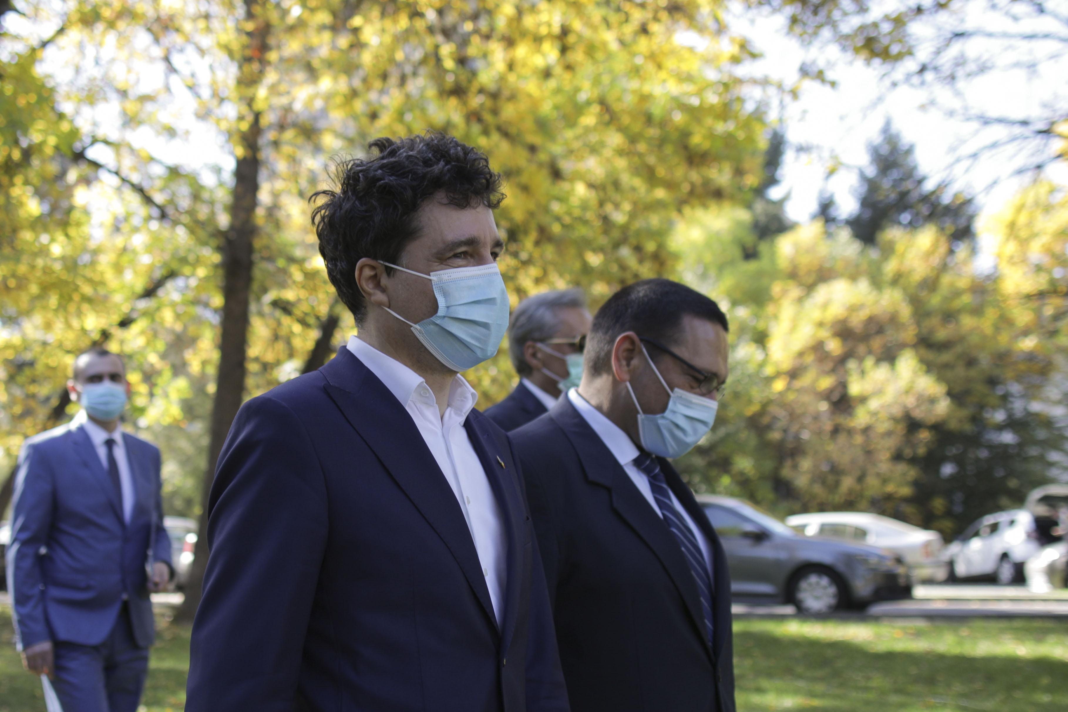 Nicuşor Dan: Vom depăși dezastrul financiar Firea-PSD de la Primăria Capitalei