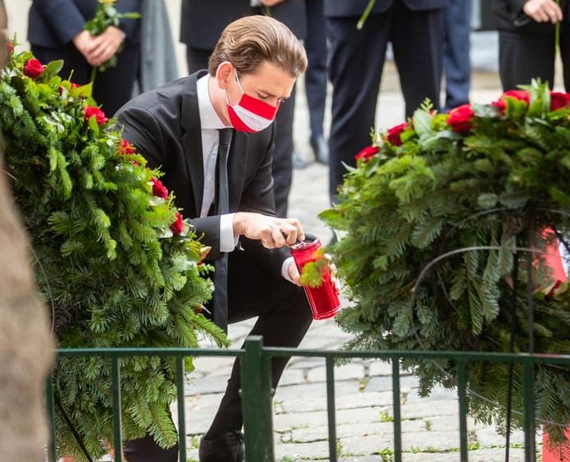 Cancelarul Sebastian Kurz, după atacul din Viena: