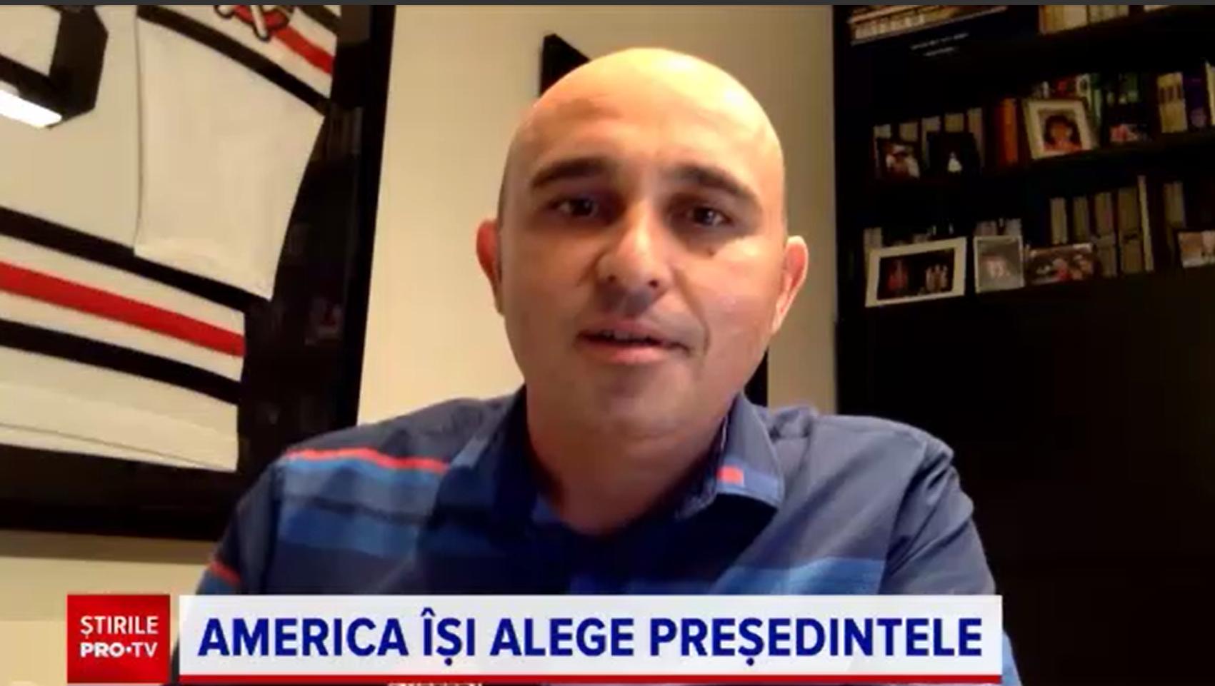 Alegeri SUA. Român în Chicago: Ca la noi, când a trebuit să alegem între Iliescu și Vadim