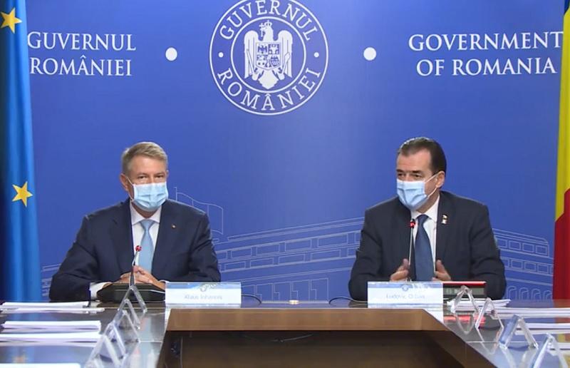 O nouă ședință la Cotroceni, pentru evaluarea măsurilor privind gestionarea epidemiei de COVID-19