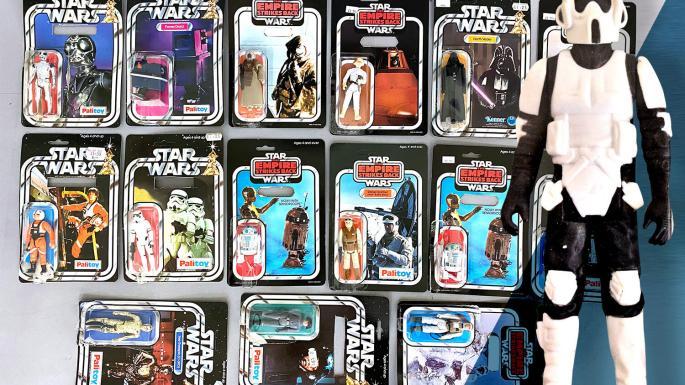 Doi britanici s-au îmbogățit după ce au vândut jucării Star Wars moștenite de la o vecină