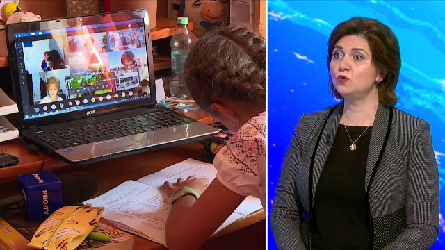 """Ministrul Educației, Monica Anisie: """"Rata de infectare în școli este sub 1%"""""""