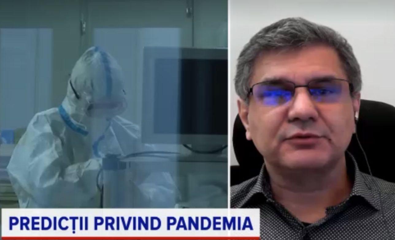 """Previziunile epidemiologului Octavian Jurma pentru Sărbători: """"Vor arăta foarte rău, îngrozitor"""""""