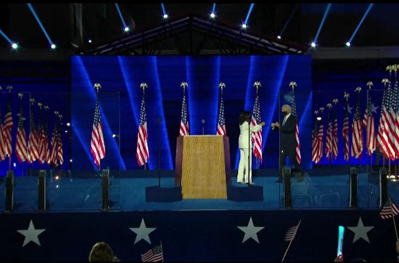 Cum a sărbătorit Joe Biden victoria în alegerile prezidențiale din SUA. Sfatul primit de Trump de la unul dintre fiii lui