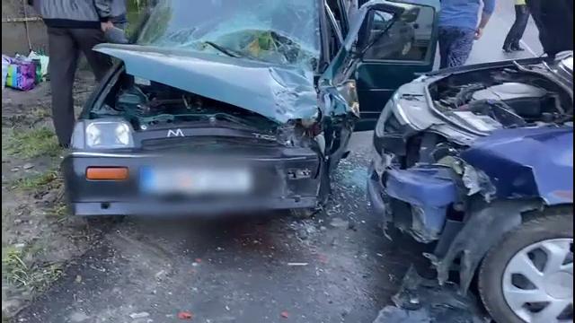 Accident grav produs de un șofer de 79 de ani în Dâmbovița, cu un Tico. Ce s-a întâmplat