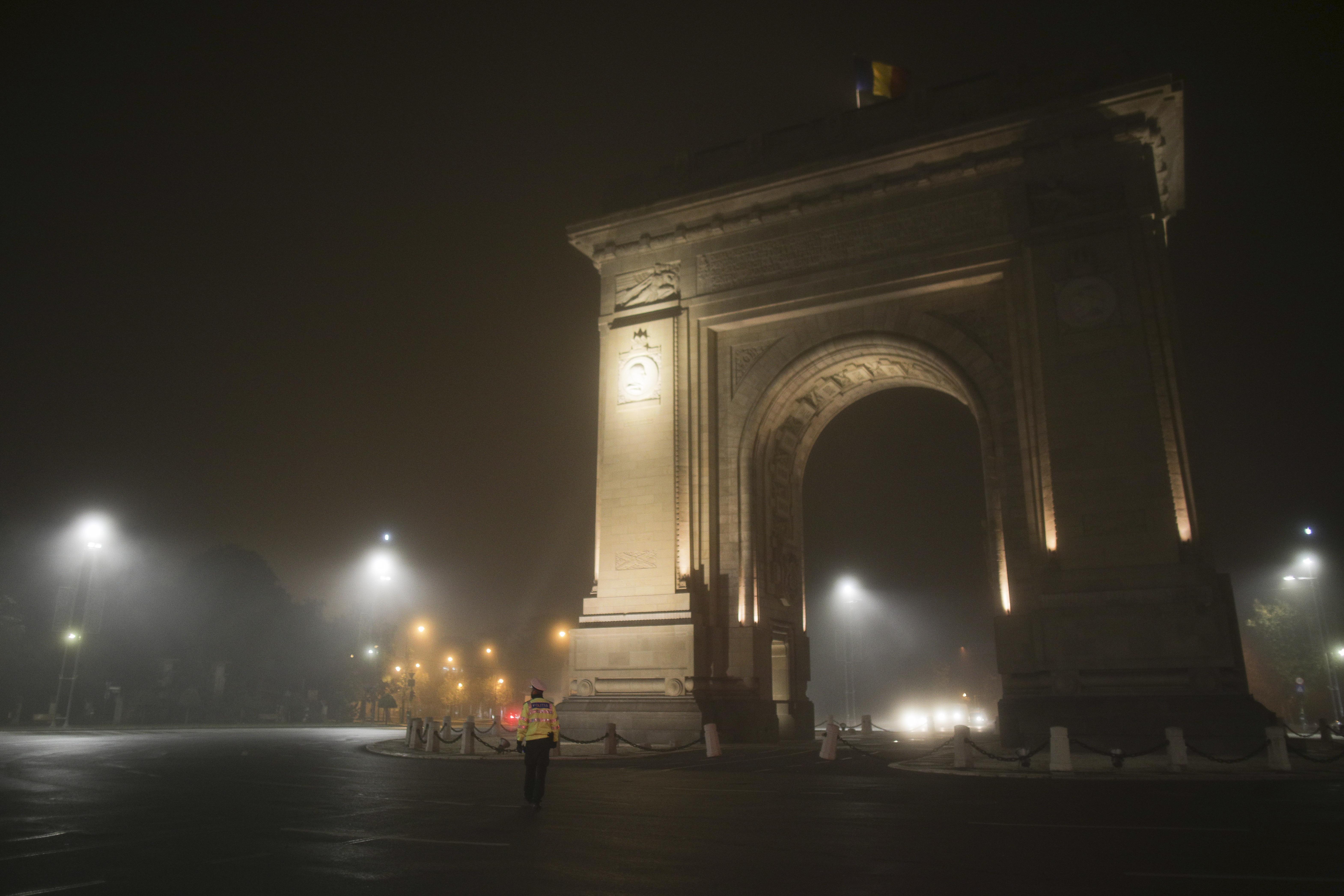 Verificări în Capitală, în prima noapte de carantină parțială