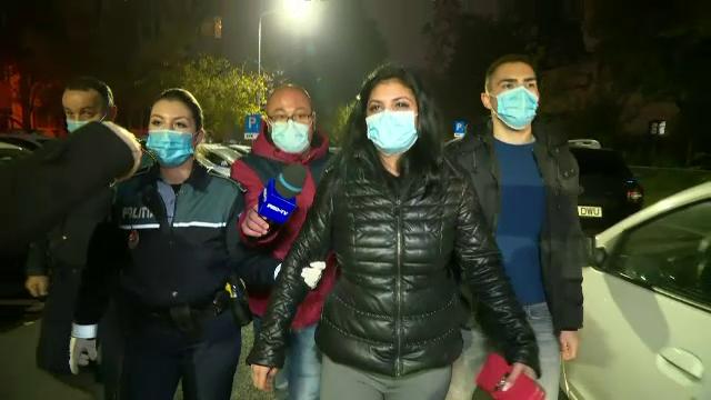 Cine este femeia care a lovit-o pe Cristina Joia. A fost prinsă de polițiști