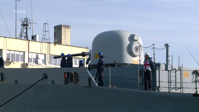 Mai mulţi membri ai echipajului fregatei Regina Maria, bolnavi de Covid-19