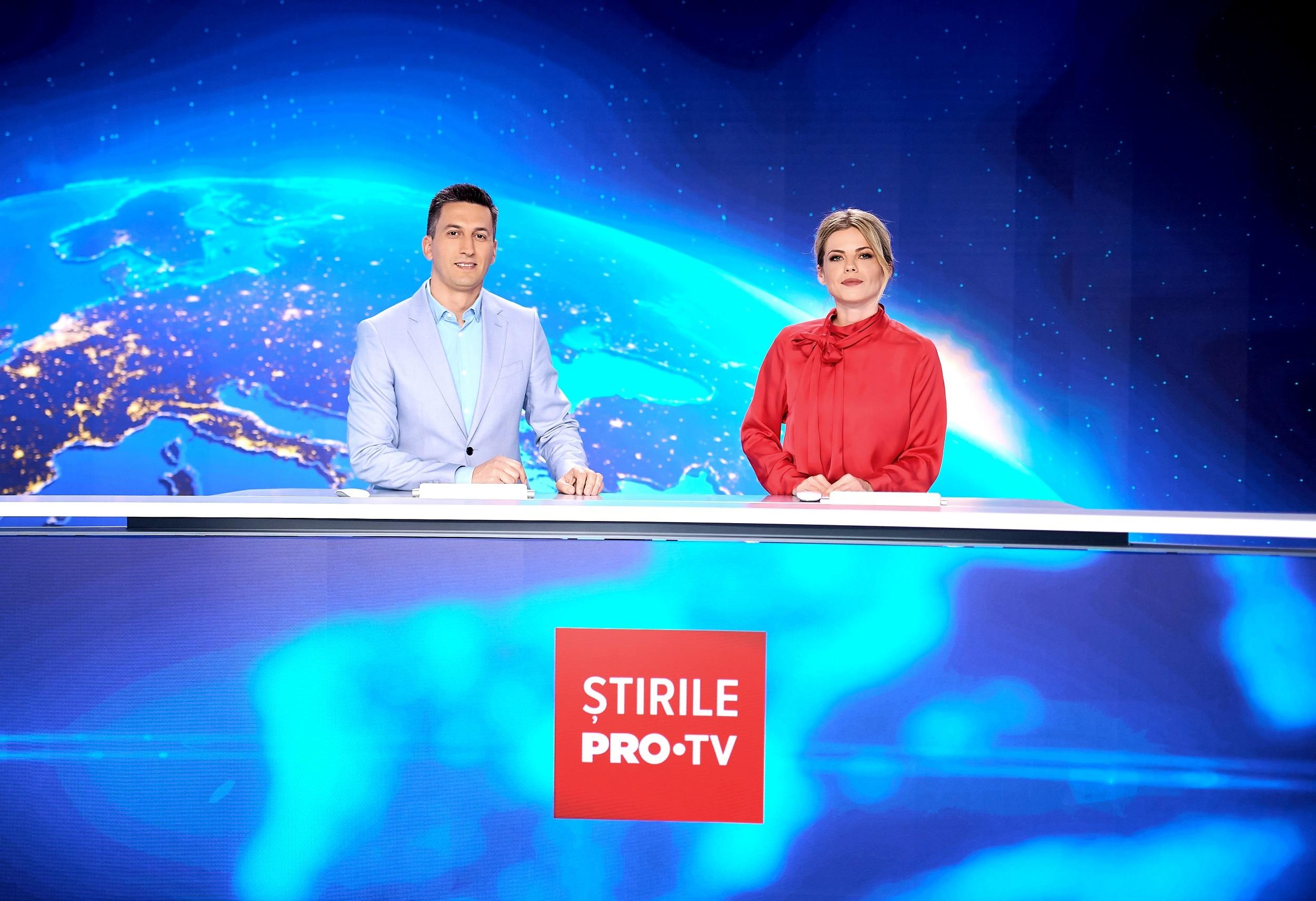 Roxana Hulpe va prezenta Știrile PRO TV de dimineață, în fiecare duminică, alături de Cosmin Stan