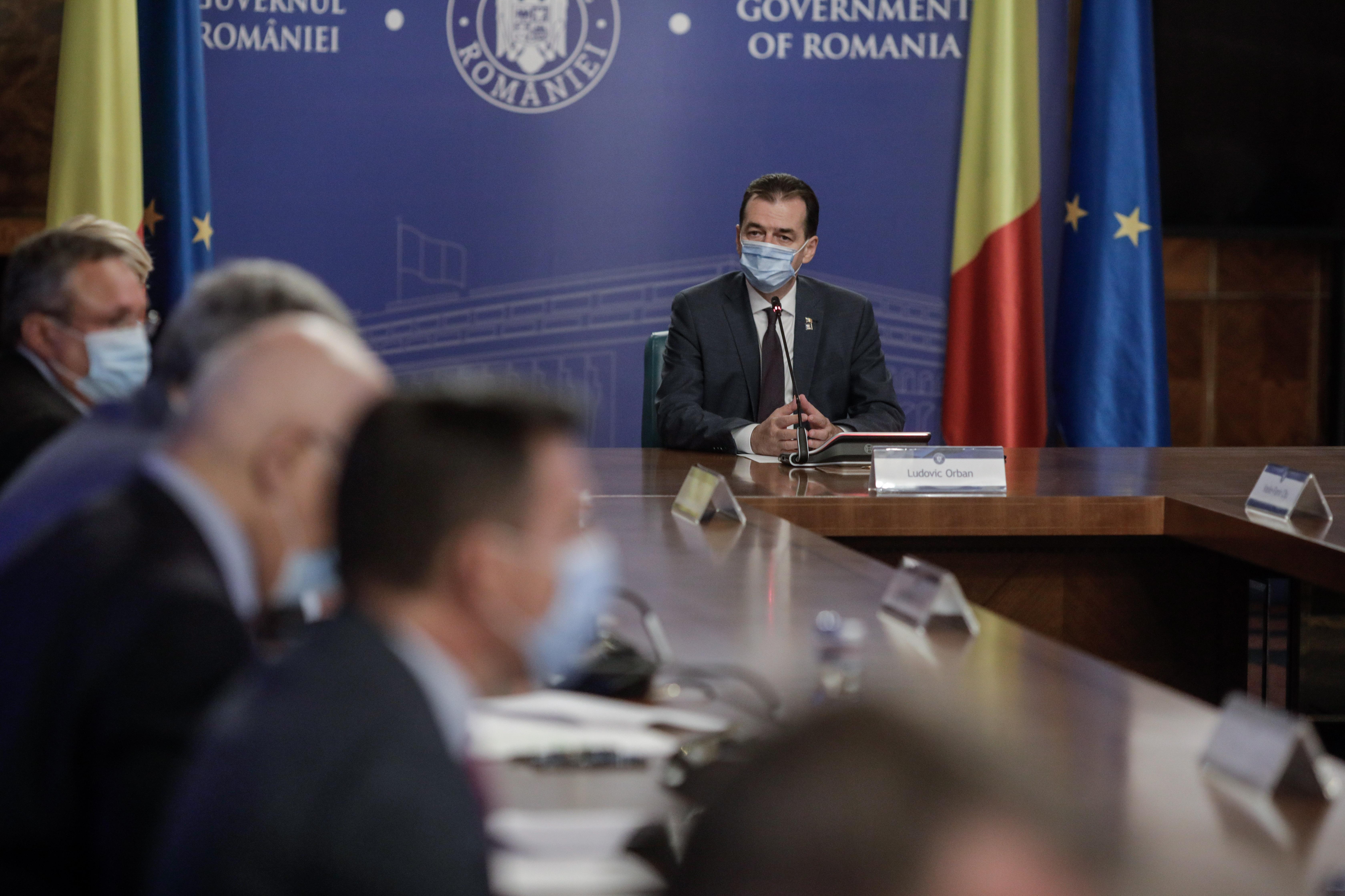 Guvernul a aprobat a treia rectificare bugetară din 2020