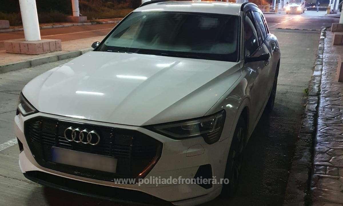 Un bulgar care a acceptat să aducă un Audi E-Tron în România a rămas fără mașină pe drum. Ce a pățit în Galați