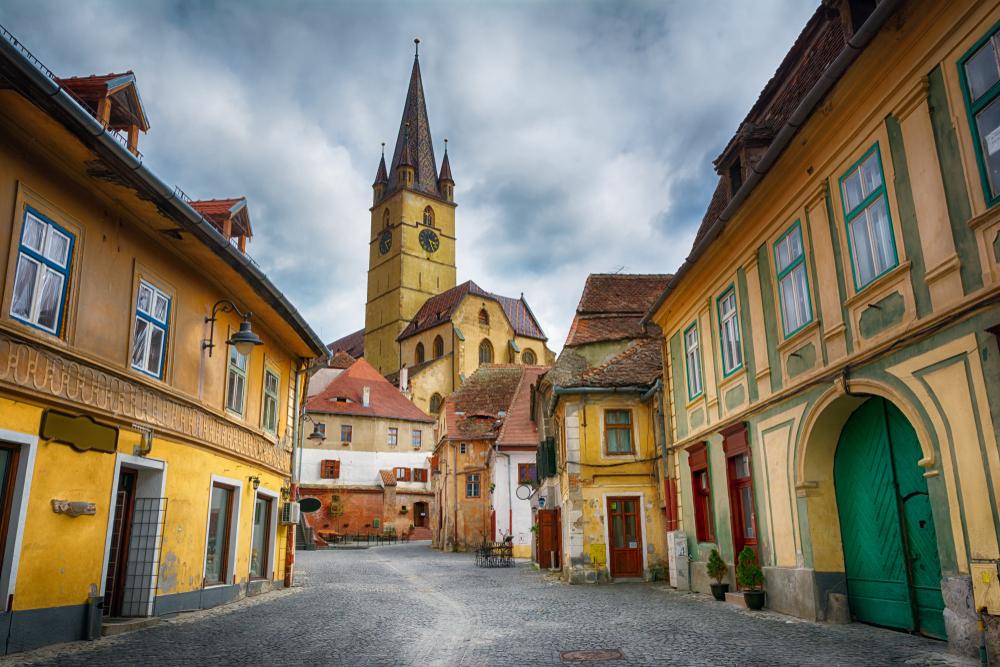 Sibiul a atins o rată de infectare record. S-a cerut ajutorul Comisiei Europene