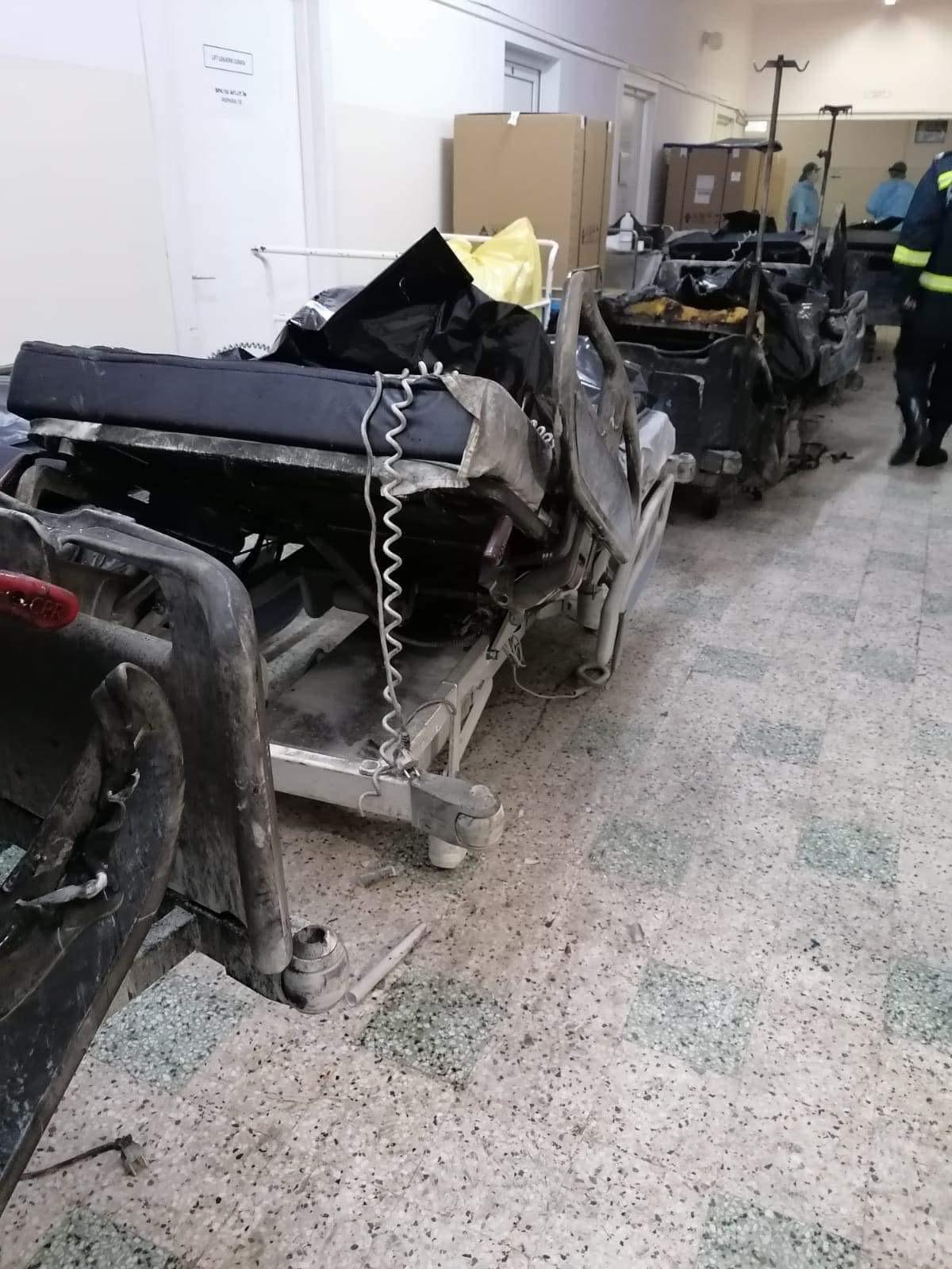 Zece suspecți și Spitalul Piatra Neamț, urmăriți penal după incendiul soldat cu 10 morți. Focul a pornit de la o candelă