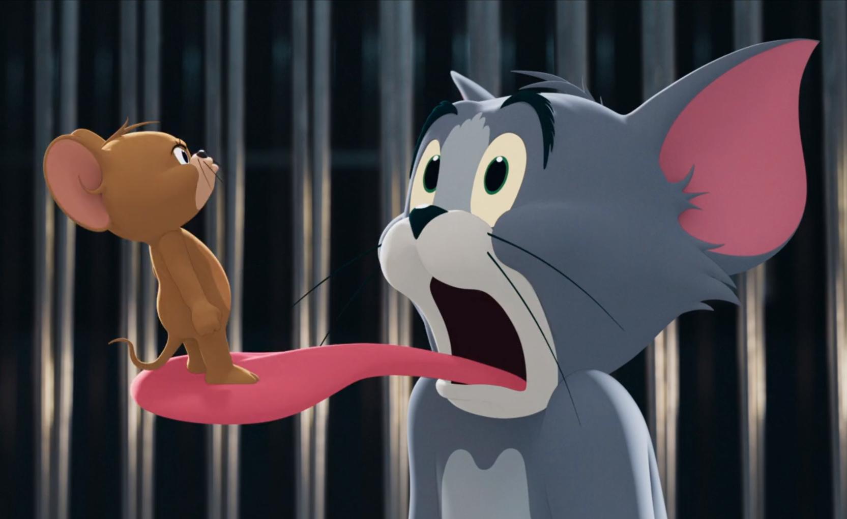 """Trailerul noului film """"Tom și Jerry"""" lansat în premieră pe www.stirileprotv.ro"""