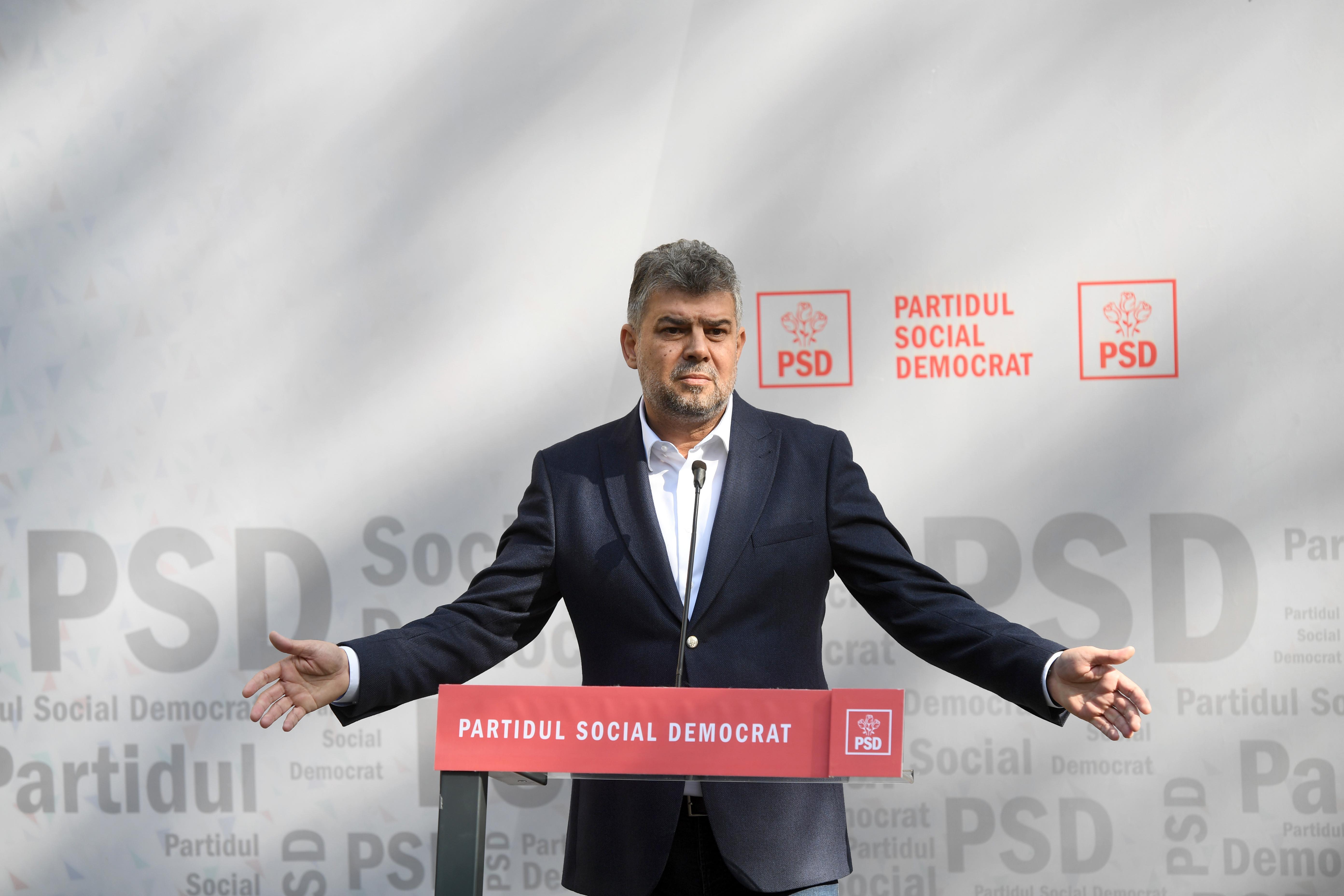 """Marcel Ciolacu: """"Câteodată cred că Iohannis mi-a luat locul, fiindcă el se crede în opoziţie"""""""