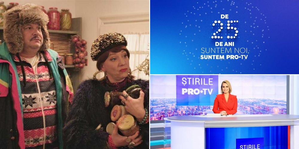 De 25 de ani suntem noi, suntem PRO TV! Pe 1 decembrie sărbătorim cum se cuvine cu un program special