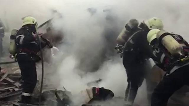 O bătrână din Dâmbovița a ars de vie în propria casă. Incendiul a pornit de la un televizor