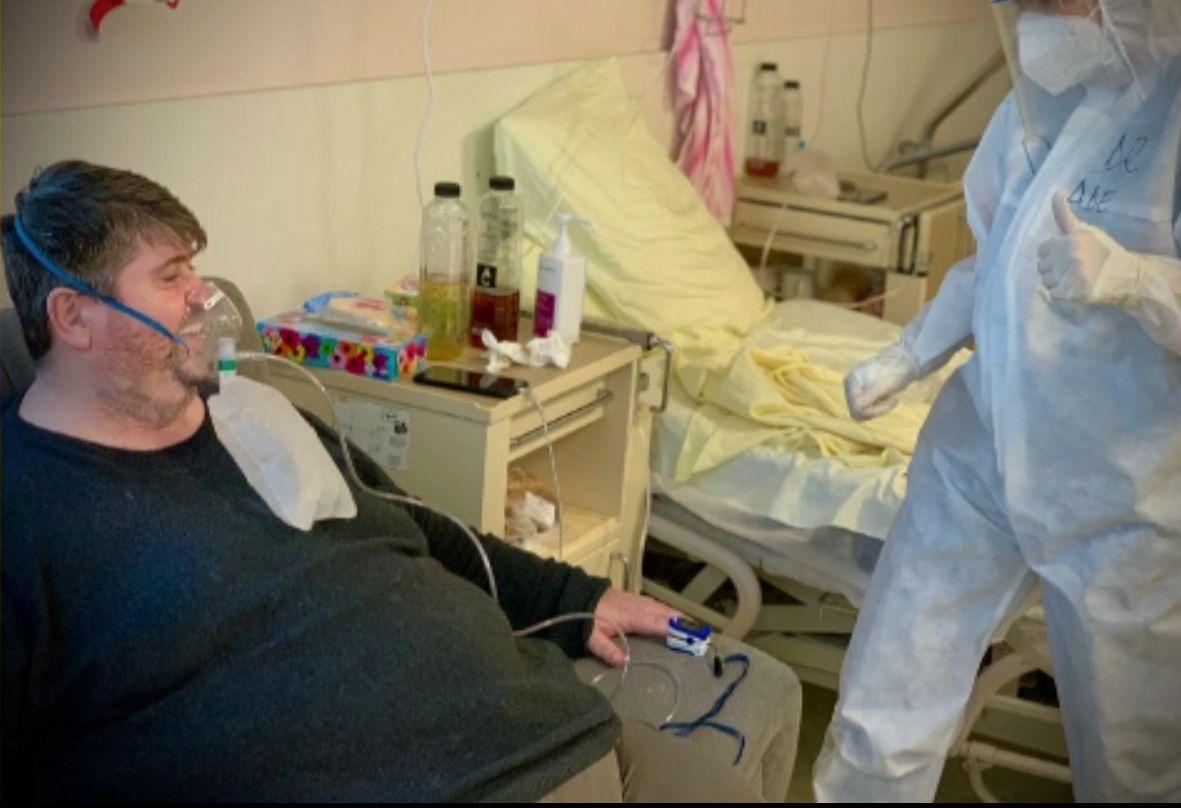 Drama unui pacient cu plămânii 70% afectați de coronavirus. Ștefan: