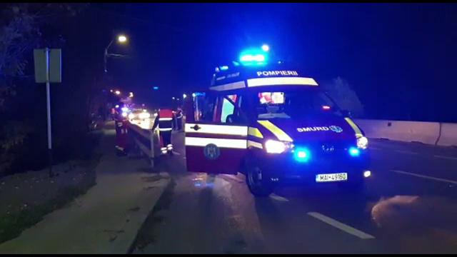 Un mort și doi răniți într-un grav accident produs luni seara la Topraisar
