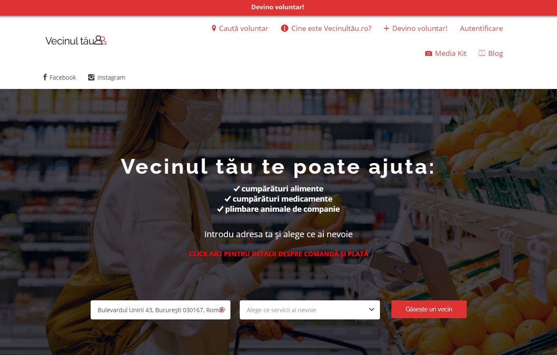 Vecinultau.ro, platforma prin care îți poți ajuta semenii în nevoie cu alimente și medicamente, prezentată la iLikeIT