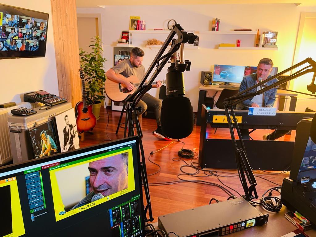 Renault ZOE a fost gazda unui concert Vunk exclusiv online transmis prin live streaming