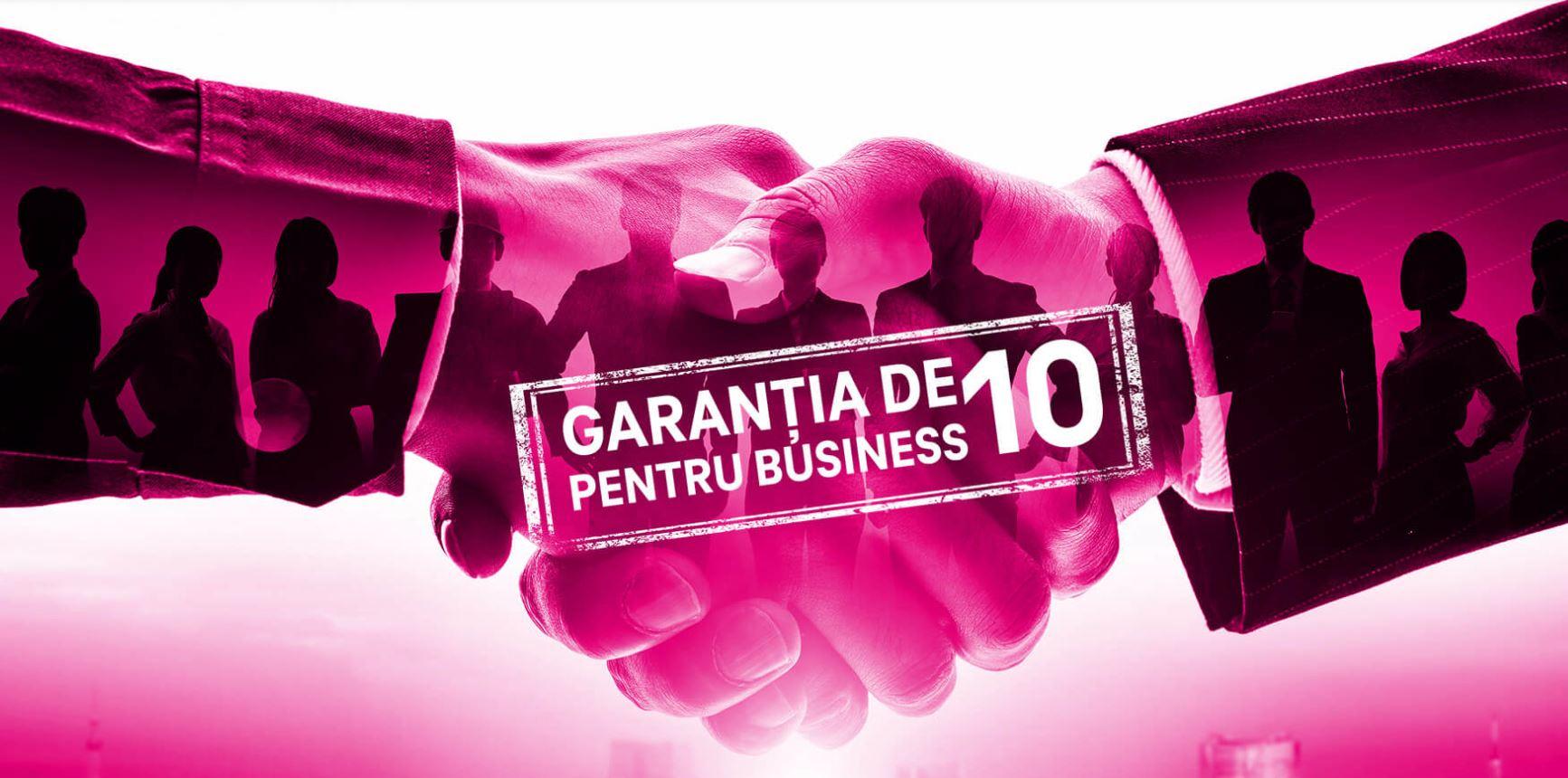 (P) Telekom România susţine antreprenorii români prin Garanția de 10 pentru business