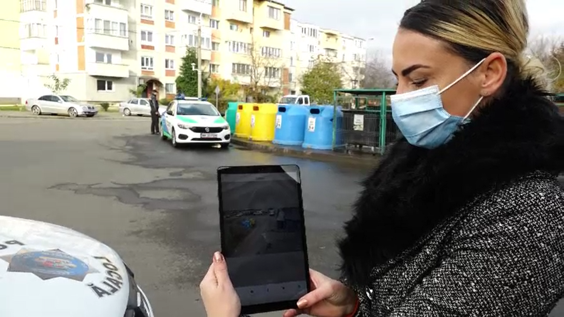 Primaria Baia Mare a montat supraveghere video la ghenele de gunoi pentru a civiliza cetățenii